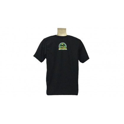 RAINFOREST CHALLENGE DRY FIT T-SHIRT - BLACK