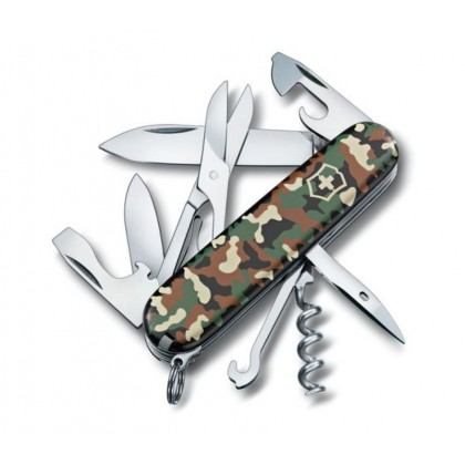 VICTORINOX 1.3703.94B1 CLIMBER CAMOUFLAGE WOODLAND BLISTER