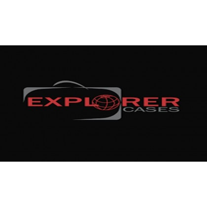 EXPLORER CASES 5122.O ORANGE WITH FOAM + WHEELS