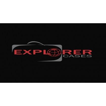EXPLORER CASES 7641.BE BLACK WITHOUT FOAM + WHEELS