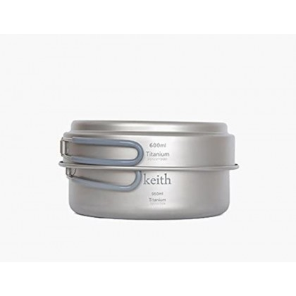 KEITH KP6016 TI POT 600ML + 950ML